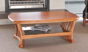 Riviera Solid Rimu coffee Table