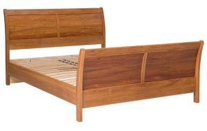 Verso Queen Slatted Bed