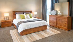New Zealand Rimu Furniture. Solaris Bedroom Suite